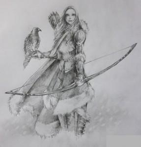 La femme nordique dans Livres nordic_archer_by_syrenion-d38pmou1-287x300