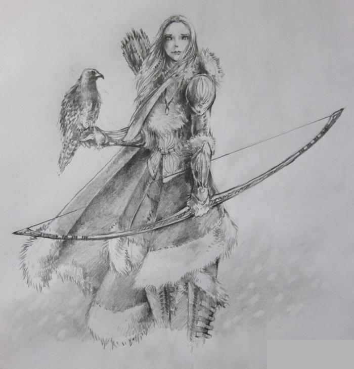 mythical archer Gallery