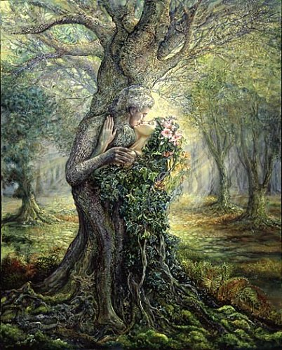 Présentation dryad_and_treespirit-DE-L-ARTISTE-JOSEPHINE-WALL