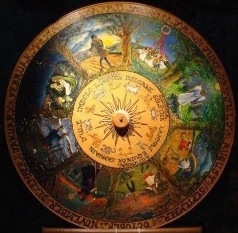 La roue de l'année païenne photo1