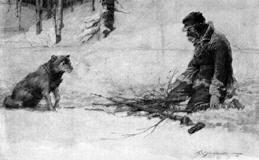 Construire un feu dans Livres 259160dog_man